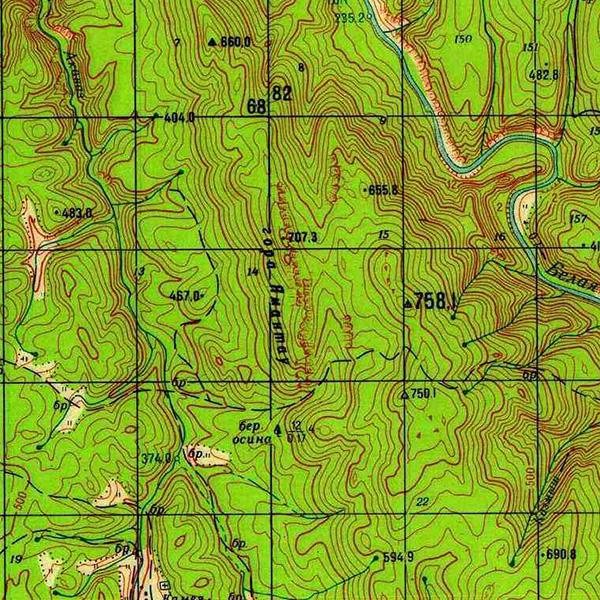 г. Ямантау (707,3 м)