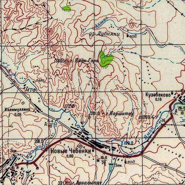 N-40-137 Яман Гора (380.1 м)