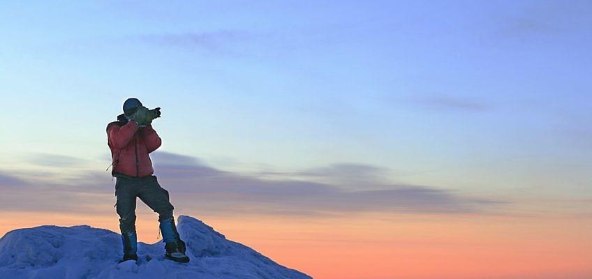 Зимняя фотосъека