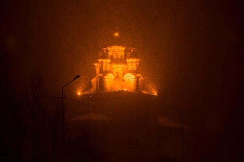 Культовое сооружение в г. Карпинск