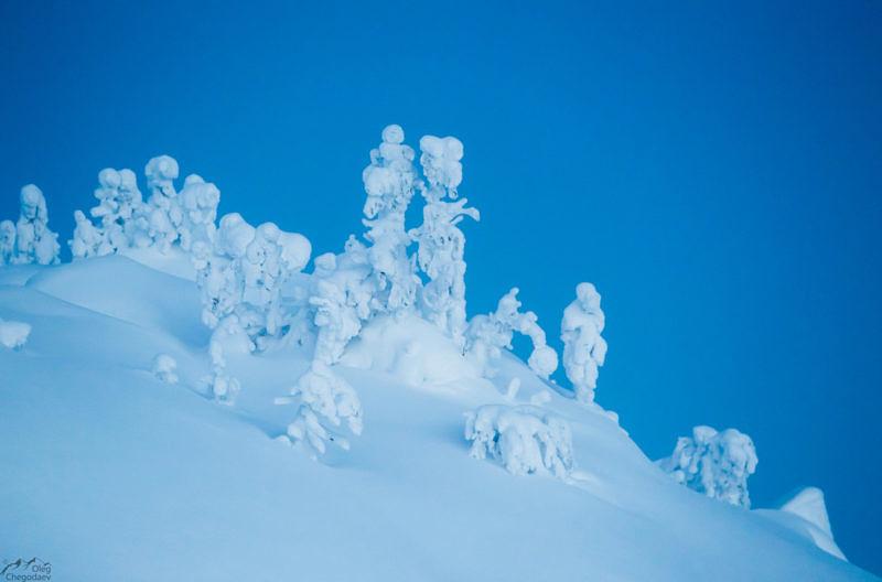 Зимняя североуральская сказка