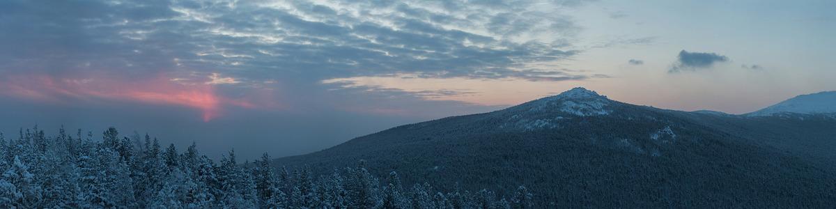 Восход на Северном Урале