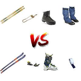 Некоторые вопросы использования  пластиковых лыж и ботинок в лыжном туризме.