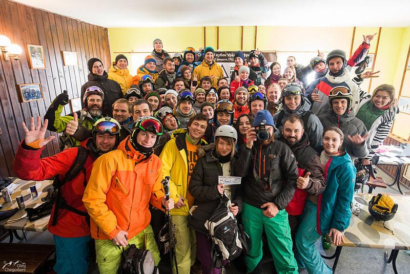 Участники Freeride Ural Cup 2017