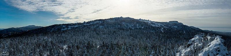 Хребет Маярдак, вид с севера