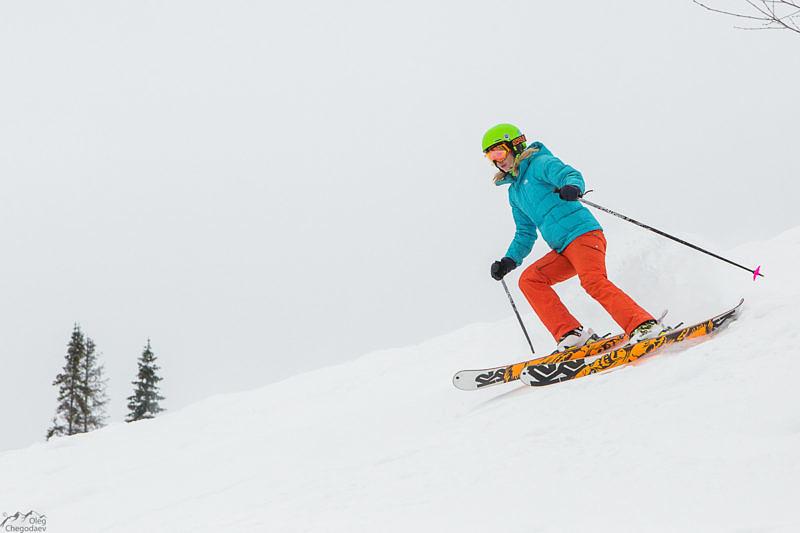 Финальные заезды участников Freeride Ural Cup 2017