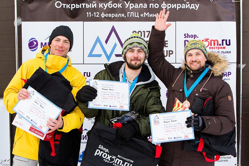 Награждение участников Freeride Ural Cup 2017