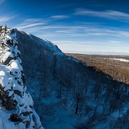 Гребень вершины Куртштау 1019 м.
