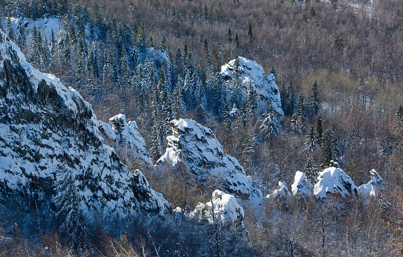 Скалы вершины Курташтау
