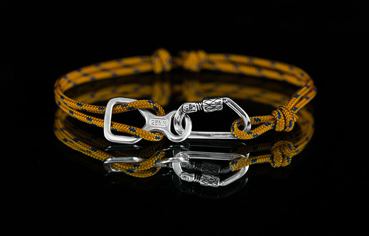 Альпинистская фенечка (браслет)