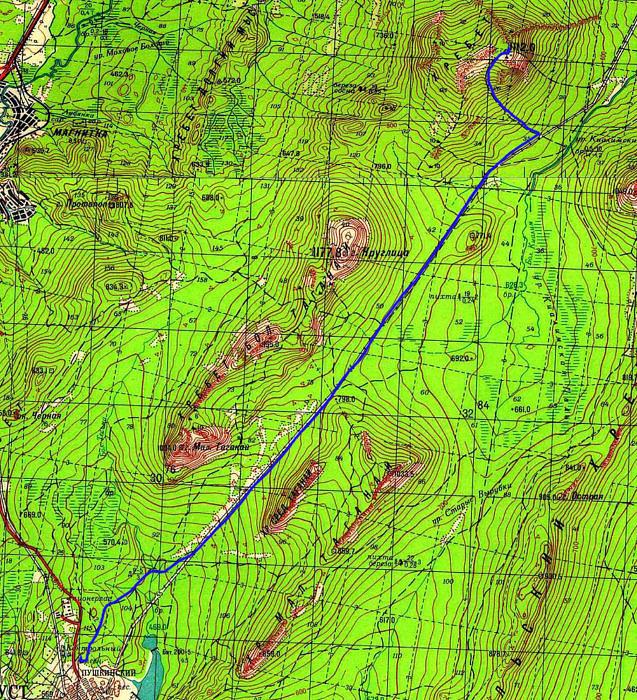 Маршрут Метеостанция - Центральная усадьба НП Таганай