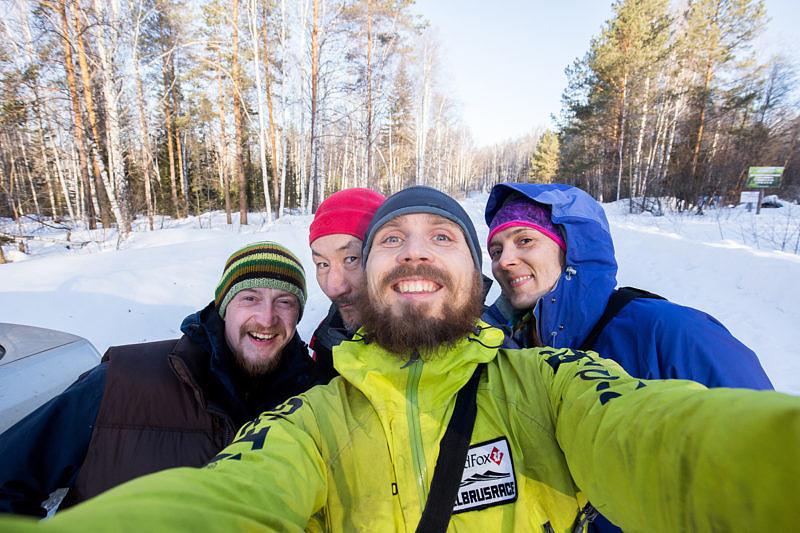 Наша группа и Евгений, добрый златоустовец )))