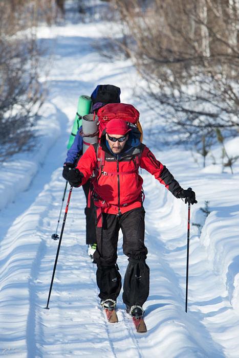 Введение в лыжный туризм на примере одного похода. Хребет Юрма – приют Метеостанция – Златоуст