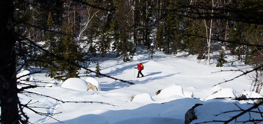 Введение в лыжный туризм на примере одного похода. Хребет Юрма — приют Метеостанция — Златоуст (карты +gps трек)