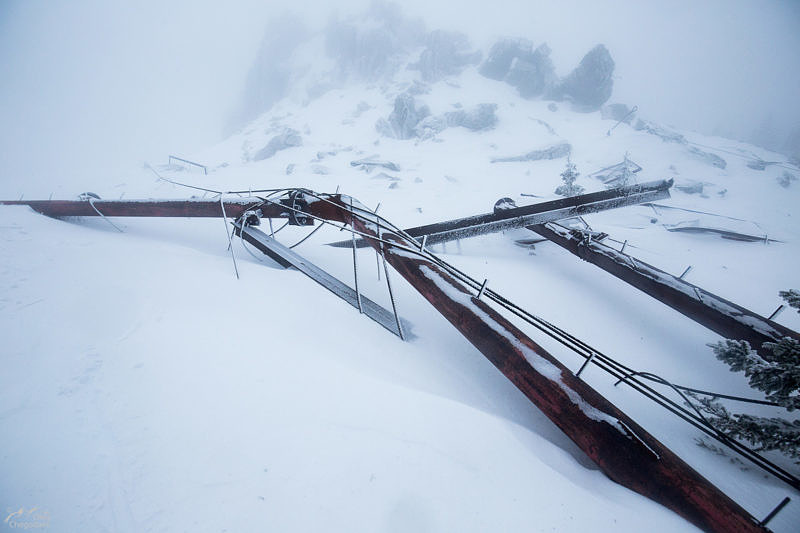 Вершина Горы Антанная, Зигальга
