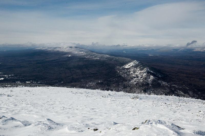 Хребет Нары, с вершины большого Шелома