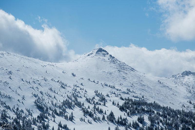 Гора Кашкатура со скал