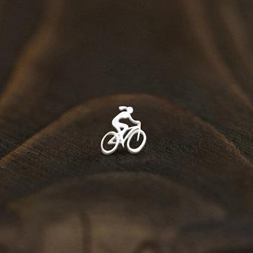 """Серьга active girl  """"Велосипедистка"""""""