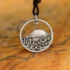 Серебряная подвеска Иремель