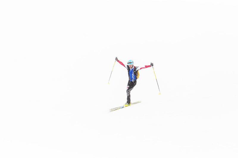 Гонка по скиальпинизму на эльбрусе