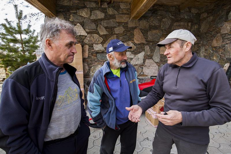 Николай Тотмянин, Николай Черный, Сергей Богомолов - легенды российского альпинизма