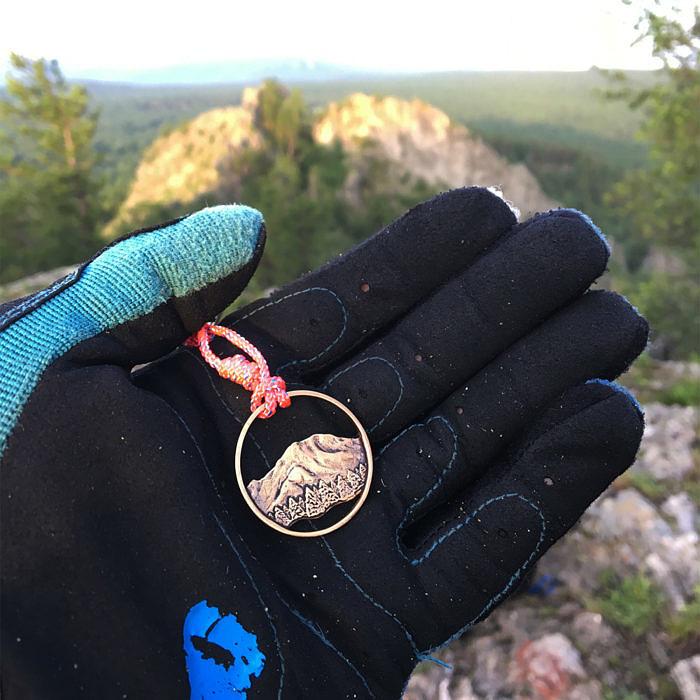 """Гора """"Рейнир"""" на вершине горы Курташтау"""