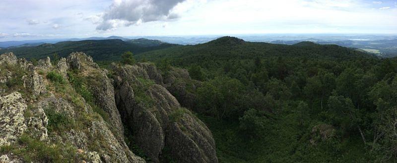 Вид с вершины Кушай
