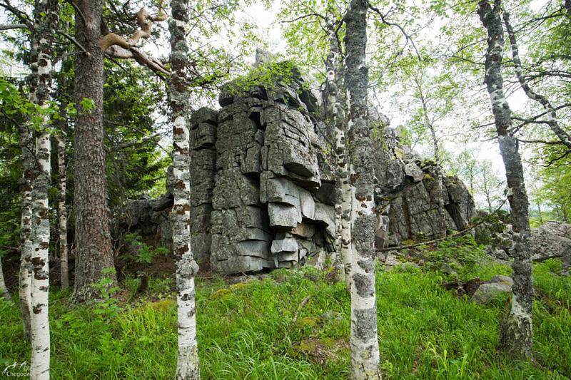 Хребет Урал-Тау, вершина 1031,2