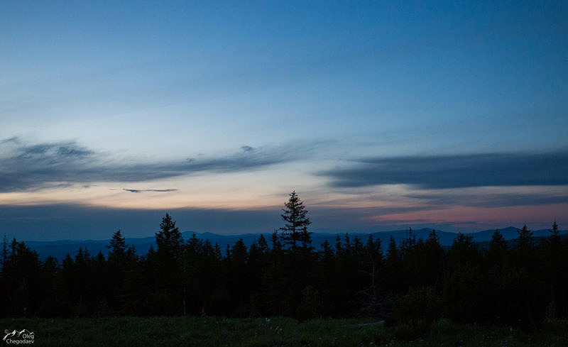 Ночь на Южном Урале