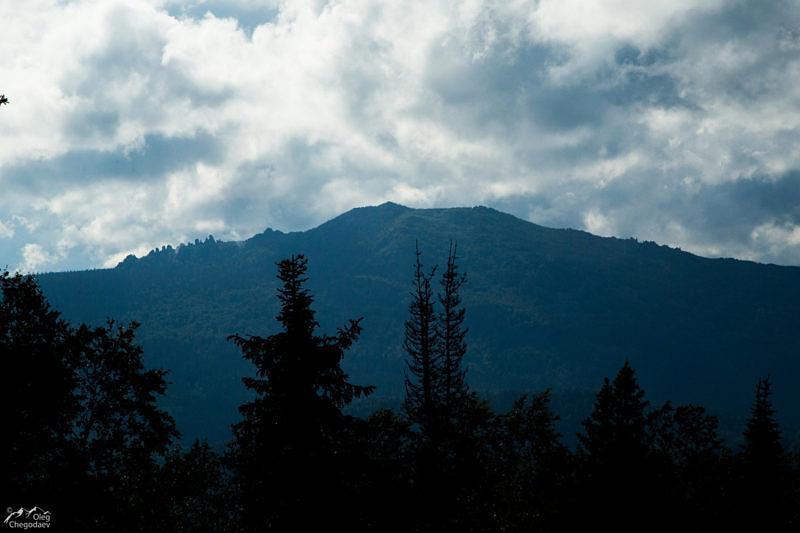 Гора Ялангас с Рассыпной