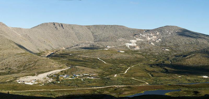 Дорога на вершину горы Баркова