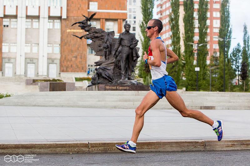 Победитель Уфимский международный марафон 2017