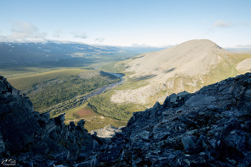 Северный склон горы Еркусей