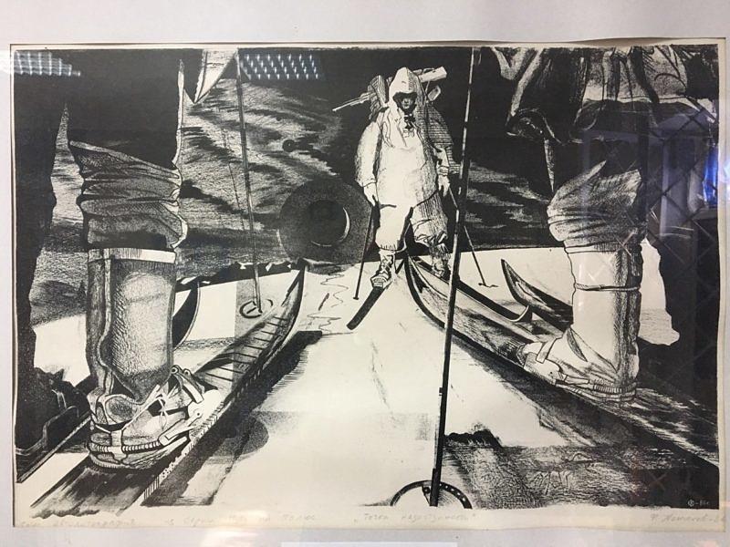 Картина подаренная музею Федором Конюховым