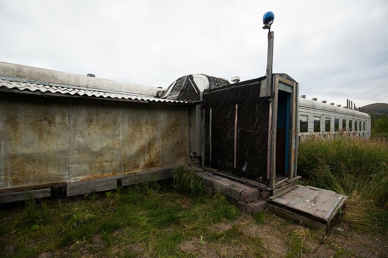 Проживание на станции Собь