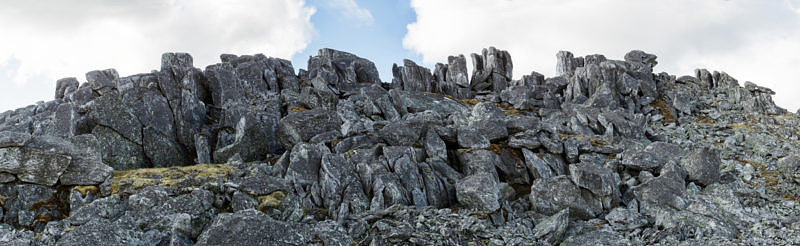 Вершина горы Старик Из