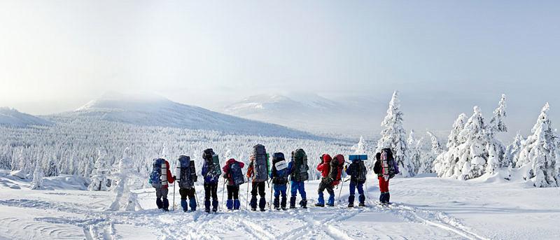 Лыжный туризм на Южном Урале