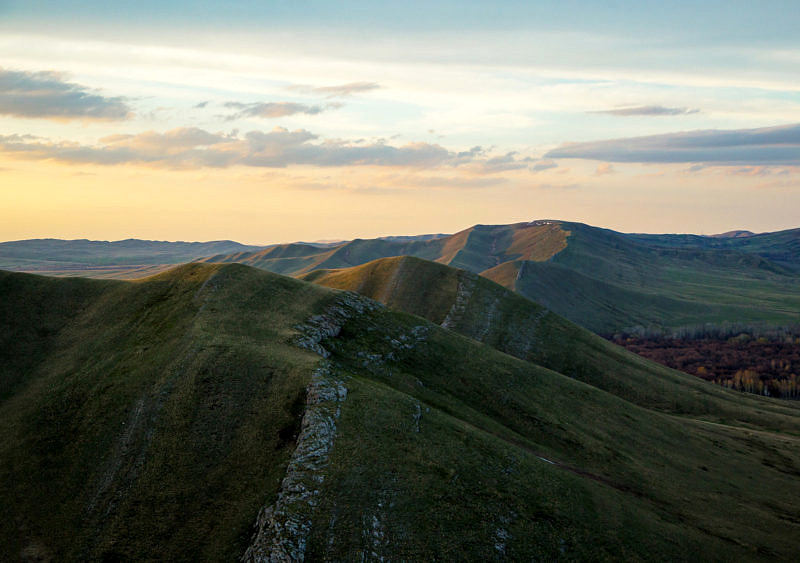 Хребет Карамурунтау - юго-запад Южного Урала