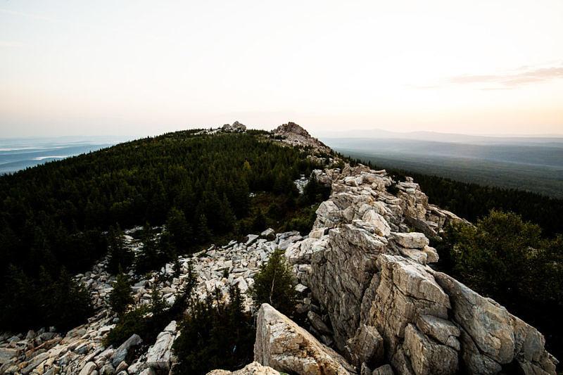 Вершина хребта Зюраткуль