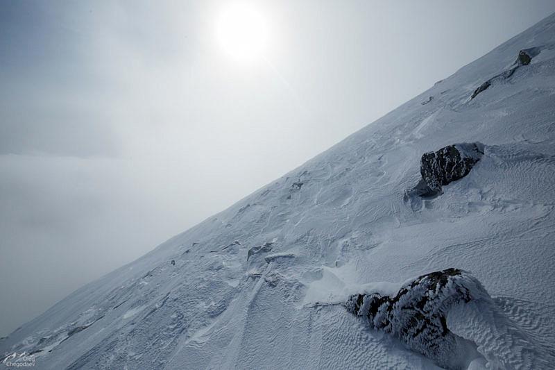 Северо-восточный склон горы Большой Шелом
