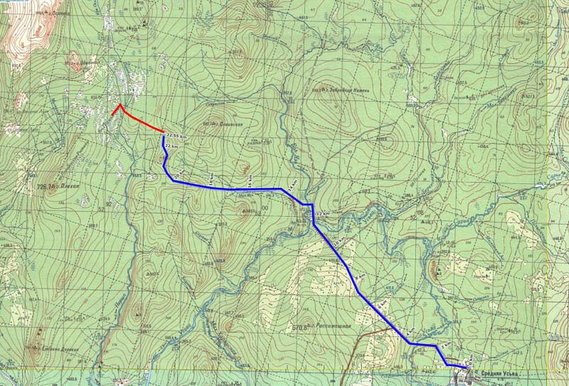 1 день маршрута Средняя Усьва - Першинские болота