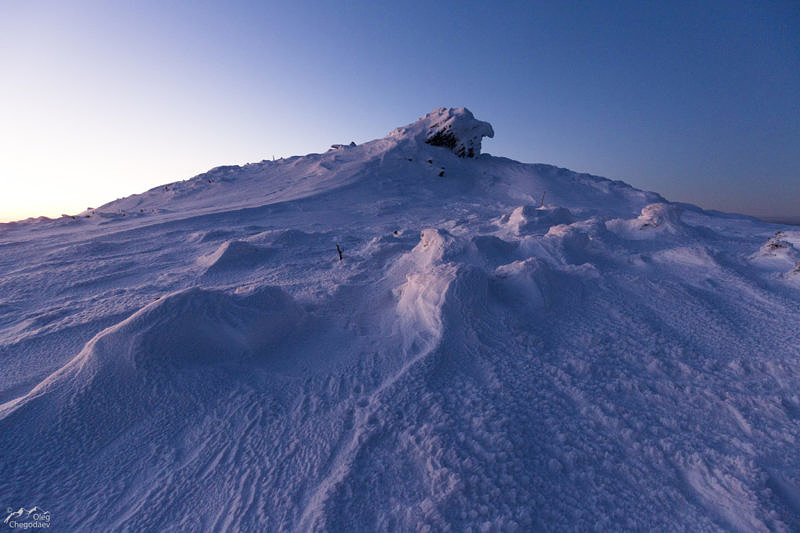 Вершина Северного Басега