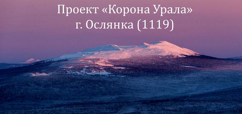 Гора Ослянка вершина проекта Корона Урала