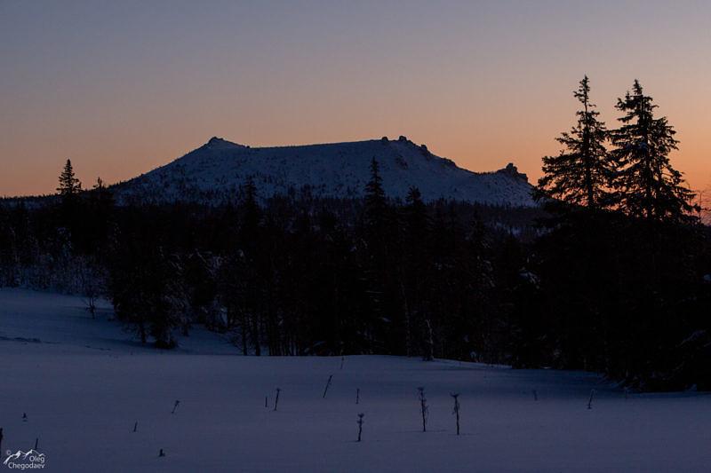 Гора Бесежная поляна