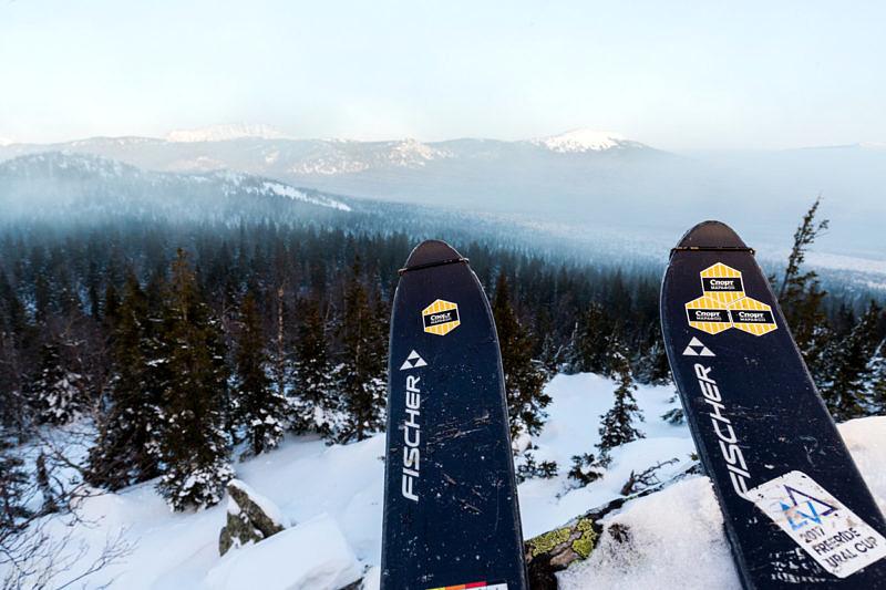 Лучшие лыжи s-bound, брендированные лучшим outdoor магазином спорт-марафон, в лучшем нацпарке Южного Урала - Таганае