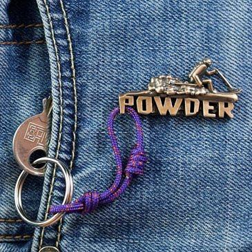 Брелок Powder ski