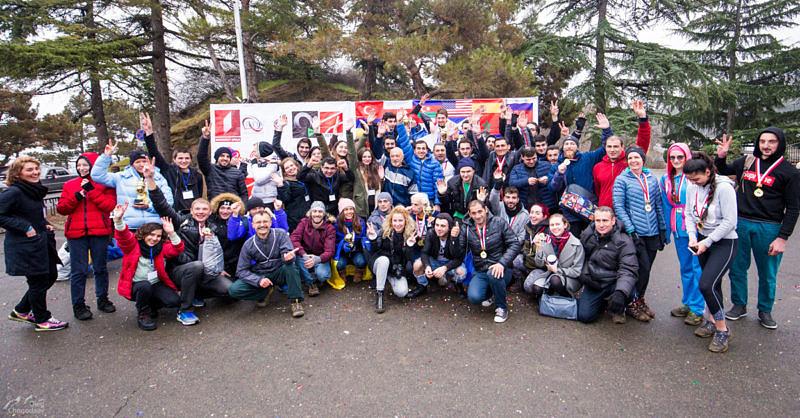 Финишеры первого горного полумарафона в Тбилиси