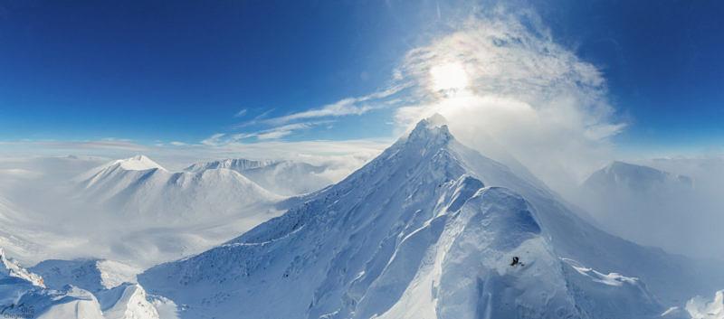 Вершина Полярного Урала гора Пайер
