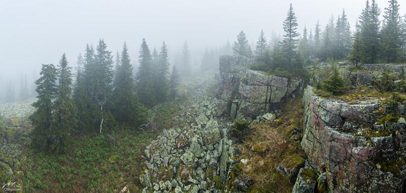 Скалы вершины Каменный Форфос