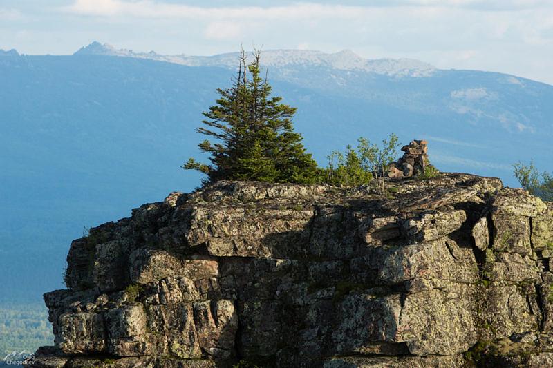 Вершина Одного из Останцев на горе Глинка